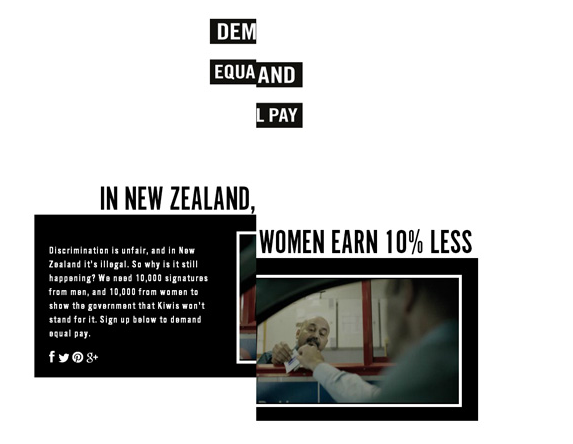 Demad Equal Pay