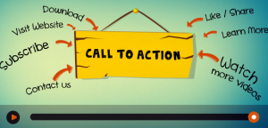 Videos call to action