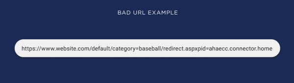 Bad URL