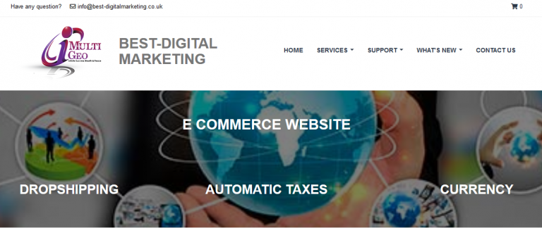 Best Digital Marketing E-commerce website