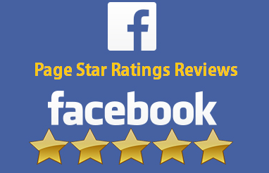 Facebook 5 star page rating