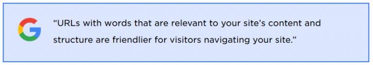 Google's statement