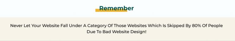 Not responsive Website