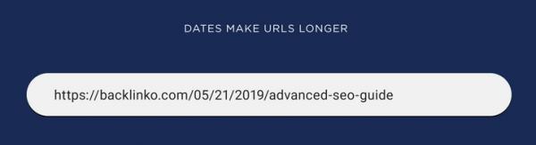 avoid dates in URL