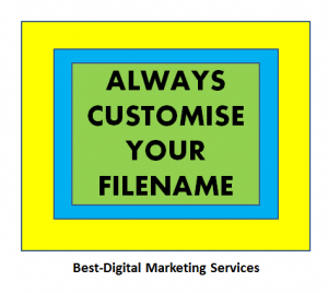 customise your filename