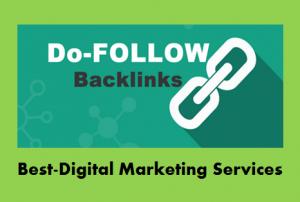 Best-Digital Marketing Services do follow backlinks