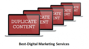 Best-Digital Marketing Services duplicate content