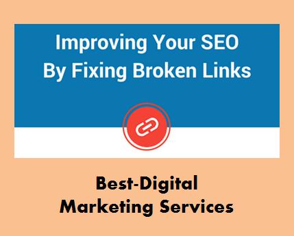 Best-Digital Marketing Services - fix broken links