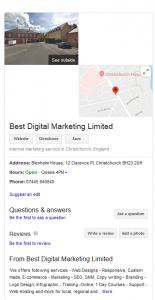 Best-Digital Marketing Services - google my business