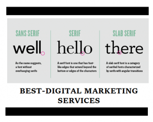 Best-Digital Marketing Services typography and fonts