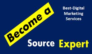 est-Digital Marketing Services become a source expert