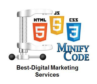 minimise html-css-javascript