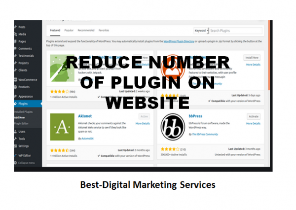 reduce number of plugin