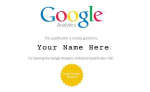 relevant certificate program