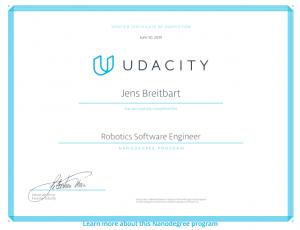 relevant certification program