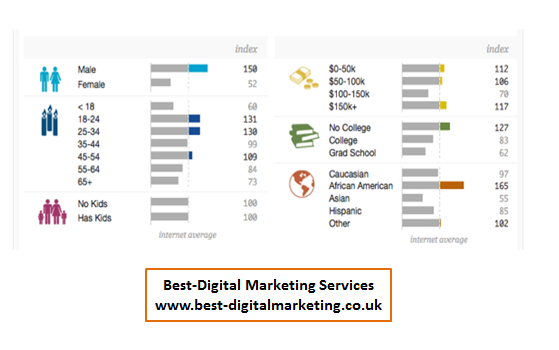 Best-Digital Marketing Services demographic targeting