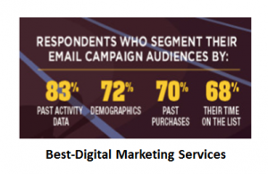 Best-Digital Marketing Services email camppaign by segment