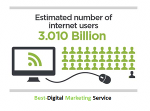 Best-Digital Marketing Services estimated internet users