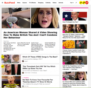 Buzzfeed Content Strategy
