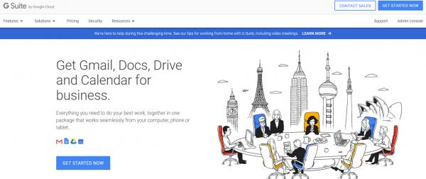 Google's Minimalistic layout