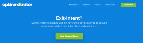 OptinMonster Exit-Intent Technology