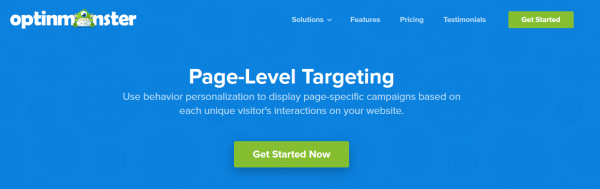 OptinMonster Page-Leveling Targeting