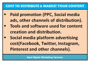 Best-Digital Marketing Services - Cost to Distribute & market your content