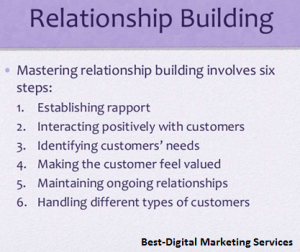 Best-Digital Marketing Services - Increase customer relationship
