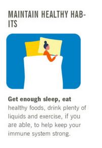 Corona - Maintain Healthy Habits