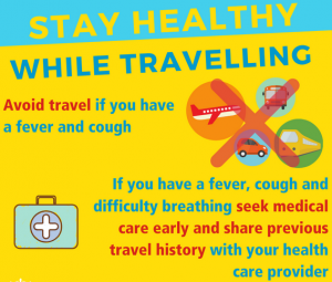 Corona -Stay Healthy While Travelling