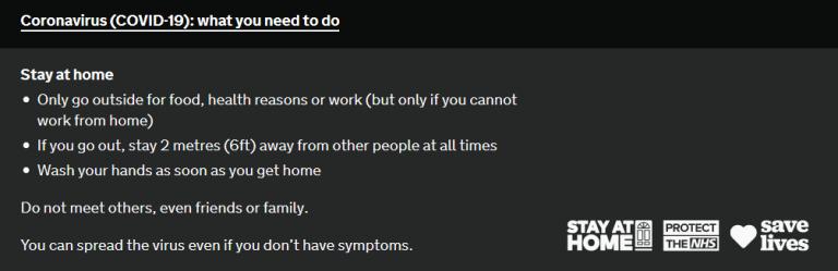 Corona Virus - What do you need to do