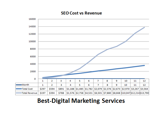 Best-Digital Marketing - SEO Cost vs Revenue