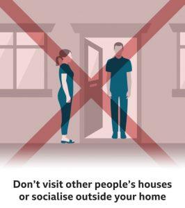 Corona Virus - Do not visit othersCorona Virus - Do not visit others