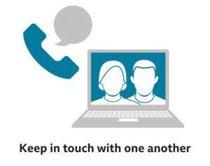 Corona Virus - Keep in touch via phones