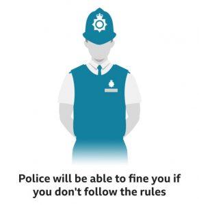 Corona Virus - Police can fine anyone now
