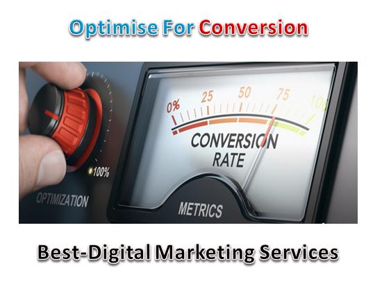 Best-Digital Marketing - Optimise for Conversion