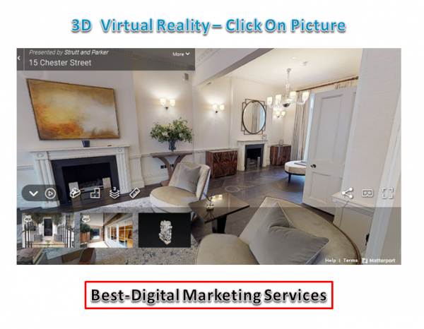 Best-Digital Marketing Services - 3D Virtual Reality