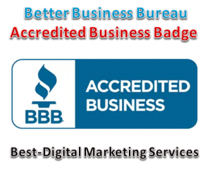 Best-Digital Marketing Services - Best Business Bureau accredited Businesss trust badge- seal