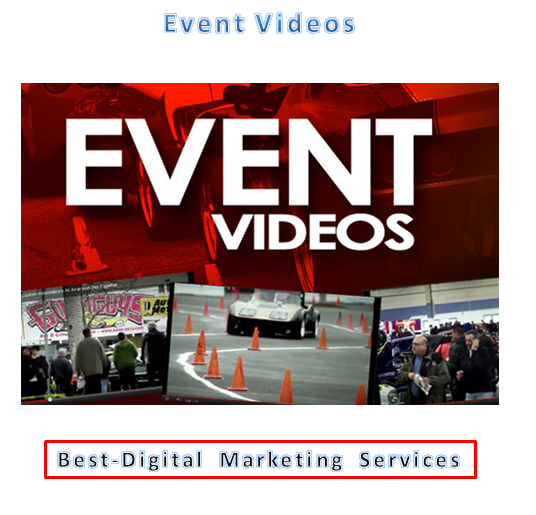 Best-Digital Marketing Services - Event videos