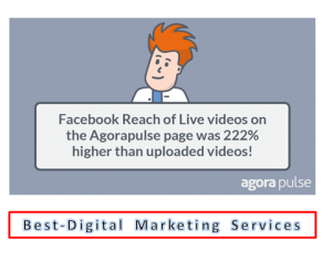 Best-Digital Marketing Services -Facebook reach of live videos