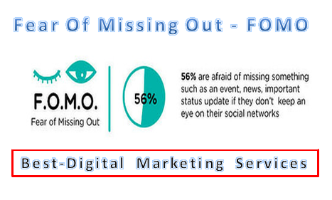 Best-Digital Marketing Services - Fear Of Missing Out - FOMO