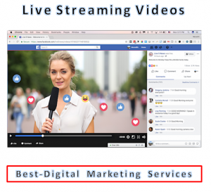 Best-Digital Marketing Services - Live Streaming