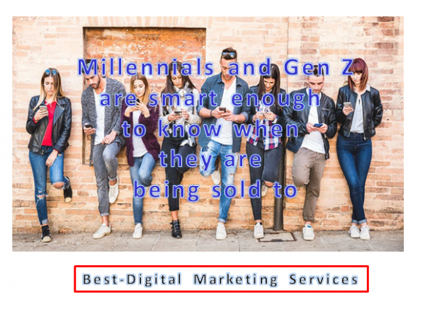 Best-Digital Marketing Services - Millennials & Gen Z- Brand content