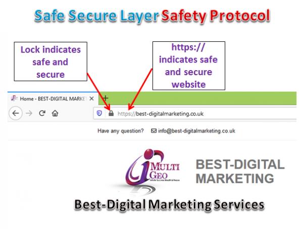 Best-Digital Marketing Services - Safe Secure Layer - SSL