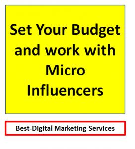Best-Digital Marketing Services - Set a Budget