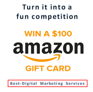 Best-Digital Marketing Services - Turn into fun contest-giveaway