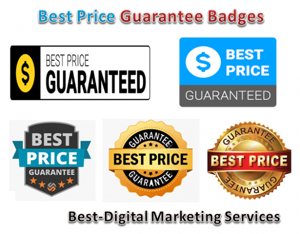 Best-Digital Marketing Services - best price guarantee badges