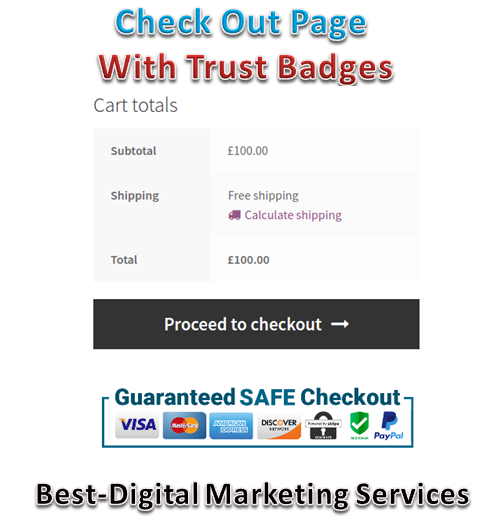 Best-Digital Marketing Services - check out pages with trust badges