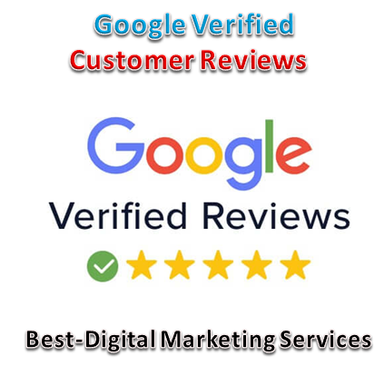 Best-Digital Marketing Services - google verified customer reviews badge