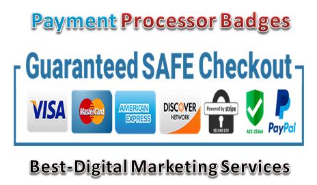 Best-Digital Marketing Services - payment procesor badges